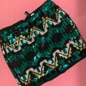 H&M Divided Sequins Skirt